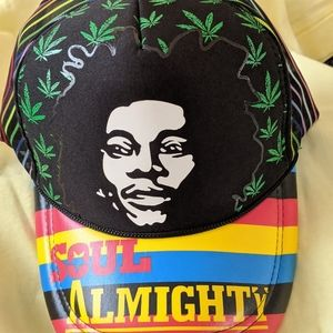 Bob Marley Snap Back Hat